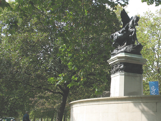 Royal Artillery memorial on the Mall