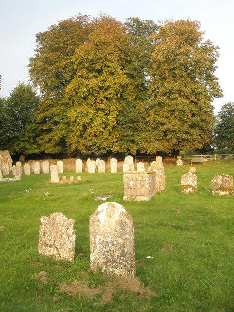 Autumn in Chalton Churchyard