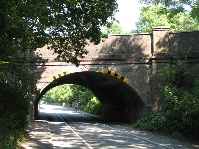 Railway bridge over Keymer Road (B2116)