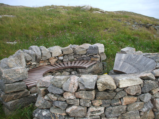 Viewpoint on Eriskay, on the road between the causeway and the ferry terminal