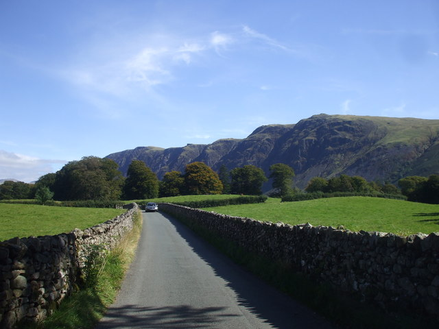 On the road to Wast Water