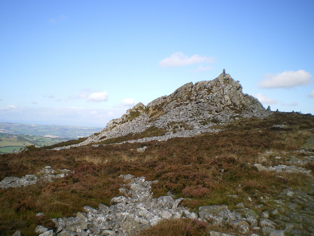 Manstone Rock from the south