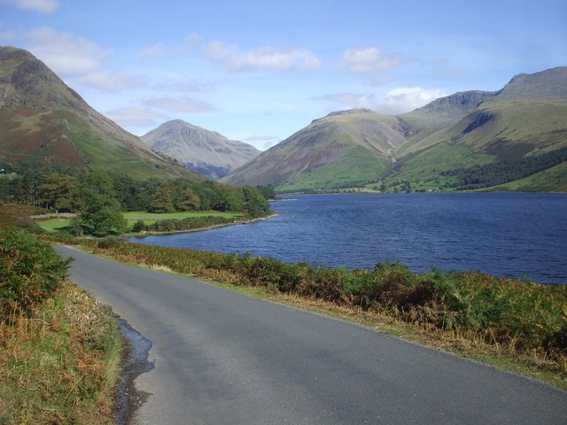 The road beside Wast Water