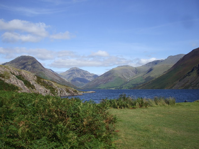 Looking up Wast Water