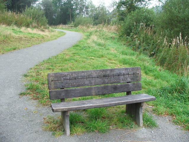 Commemorative Bench at Wistlandpound