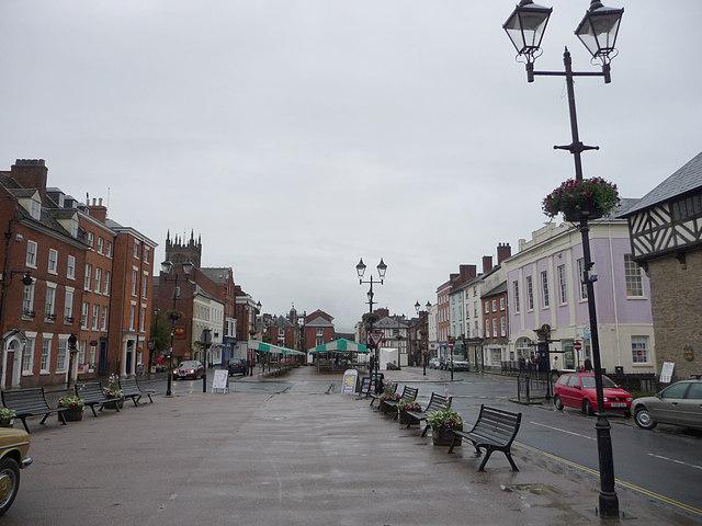 Market Square, Ludlow