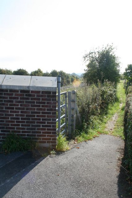 Footpath to the village