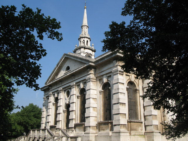 St. Paul's Church, Deptford - south side