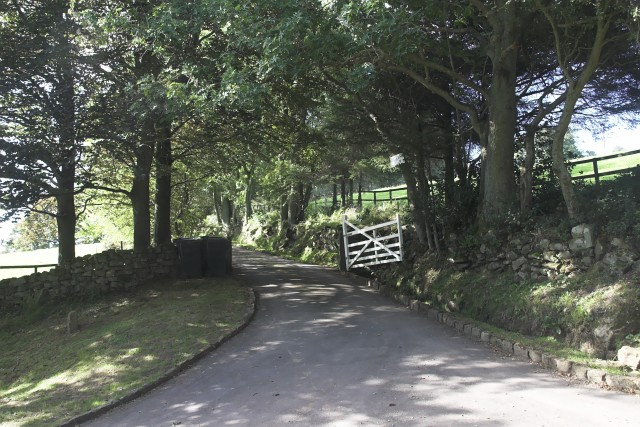 Entrance to Rigg End Farm