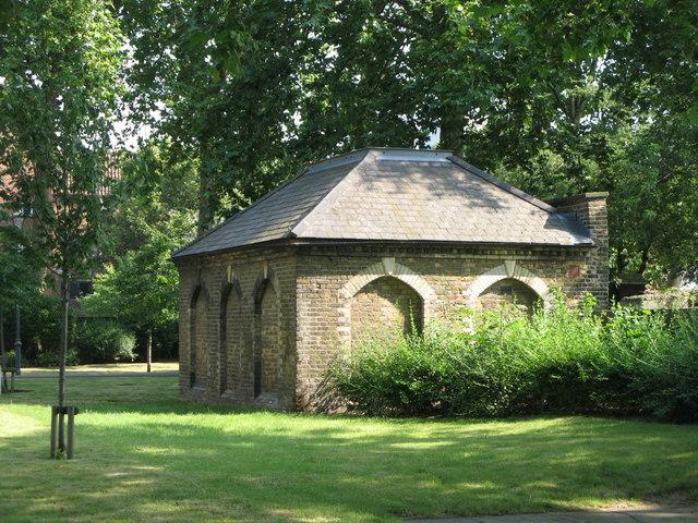 St. Paul's Church, Deptford - charnel house