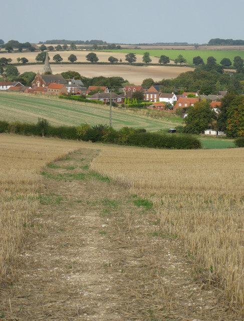 Footpath to Binbrook