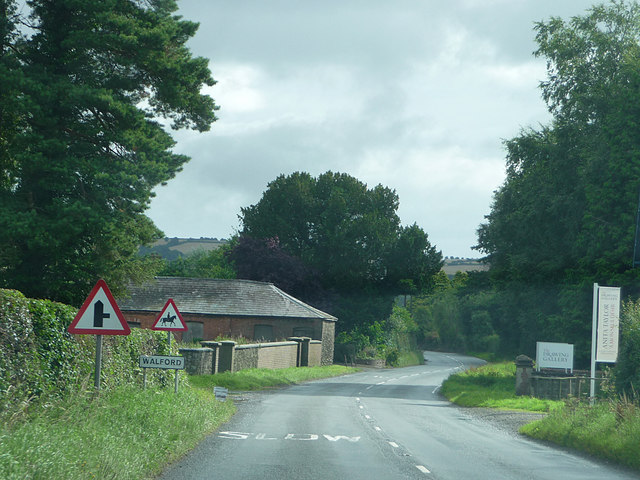 Approaching Walford