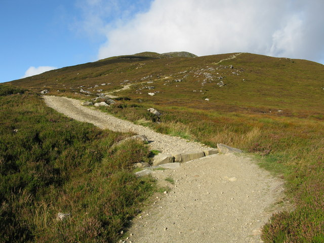 Looking up the Schiehallion Path