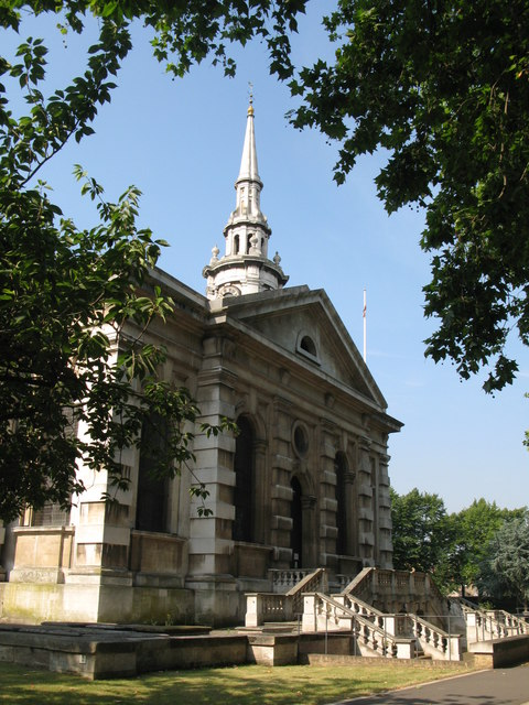 St. Paul's Church, Deptford - north side