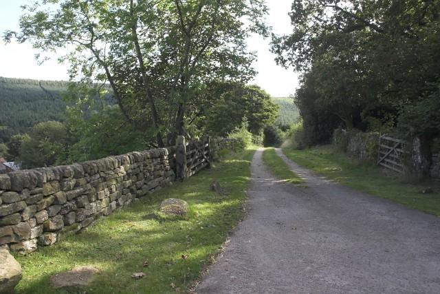 Storey House Farm entrance