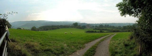 Coxbury farm from Coxbury Lane