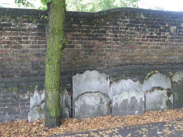 St. Paul's Church, Deptford - gravestones