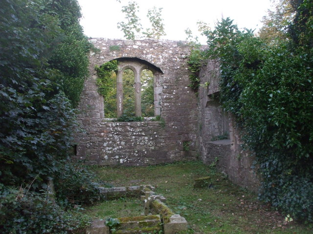 Ruins of the previous church at Bridekirk