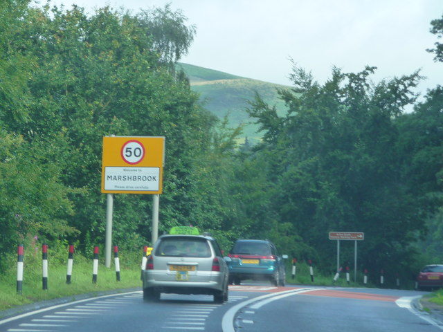 A49 south east of Marshbrook