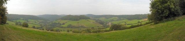 View North from Coxbury Lane