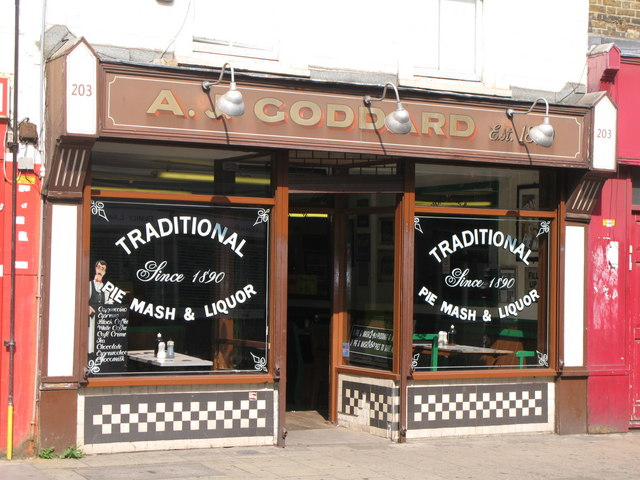 A J Goddard, Deptford High Street, SE8