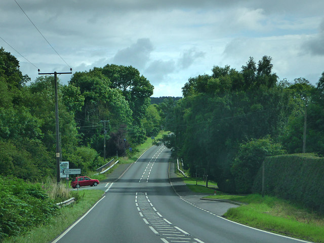 A49 near Lee Brockhurst