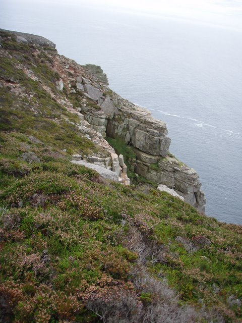 Cliff tops near Santoo Head