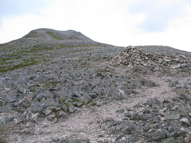 Boulder Field on the Schiehallion Ridge
