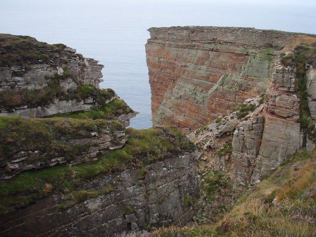 Cliffs at Santoo Head