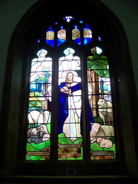 Window, The Church of St John the Baptist, Pilton