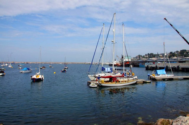 The outer harbour at Brixham