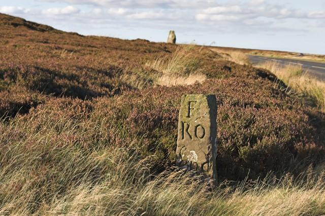 Wayside marker stone