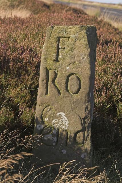 Lengthman's marker stone