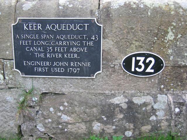 Keer Aqueduct, Lancaster Canal