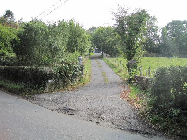 Entrance to Brookside farm