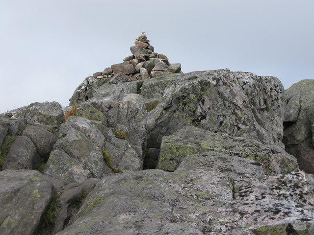 Small Cairn at the Summit of Schiehallion