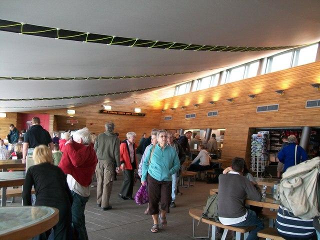 The less than impressive interior of Hafod Eryri
