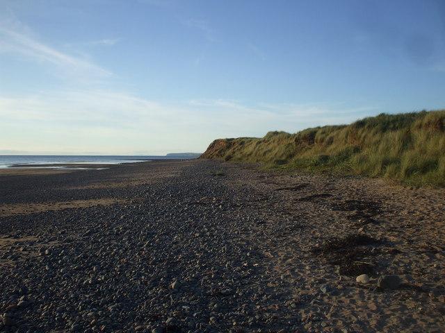The  shore near Drigg