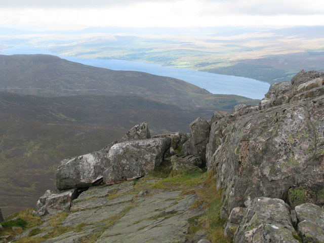 Summit View from Schiehallion