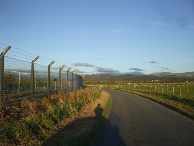 Sheep fencing and security fencing, Drigg