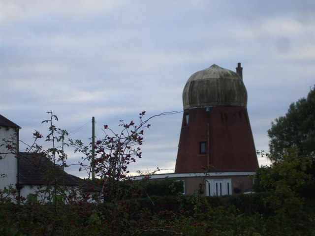 Converted windmill, Langrigg Bank