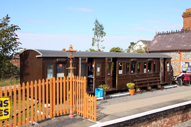 Cafe at Chinnor Station