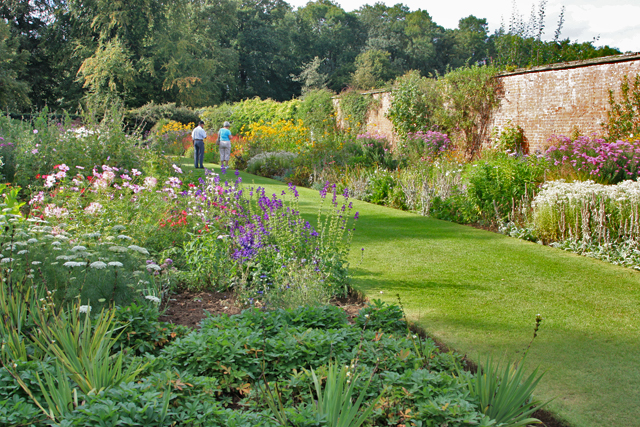 The walled garden, Normanby Hall