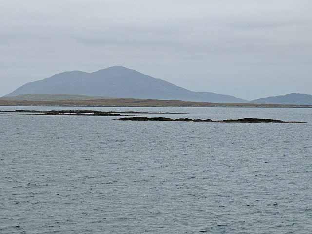 Skerries in the Sound of Harris