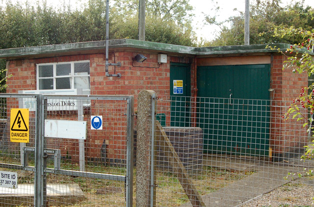 Marston Doles booster sewage pumping station