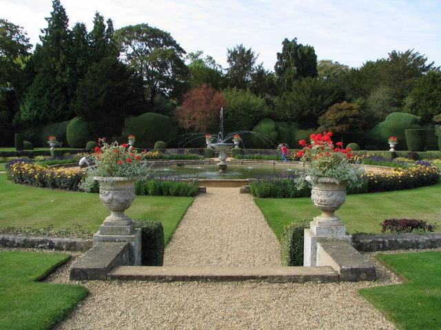Italian Garden - Belton House