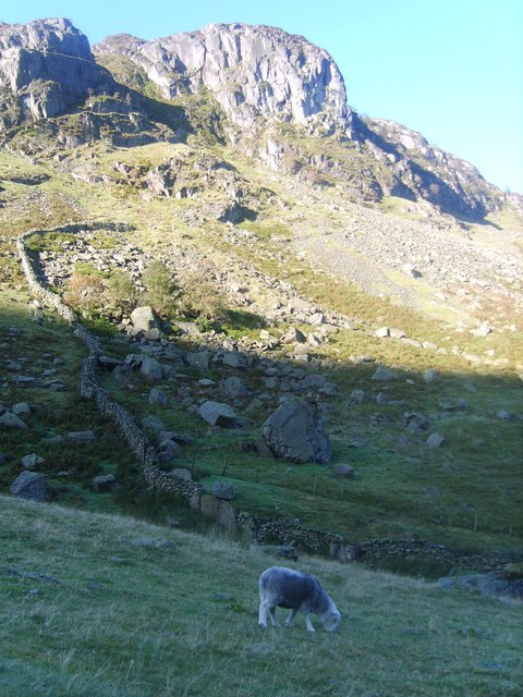 Wall Under Pounsey Crag