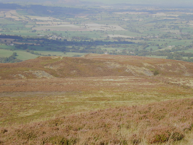 Castle Ring hillfort from the Stiperstones ridge