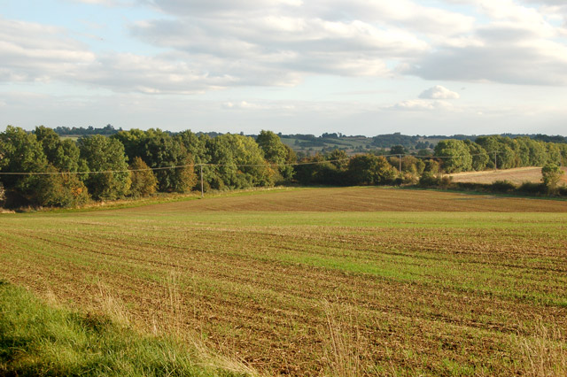 Footpath southeast from Flecknoe to Staverton (3)