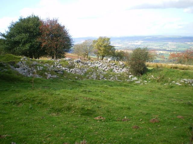 Farmstead ruins at Blakemoorgate